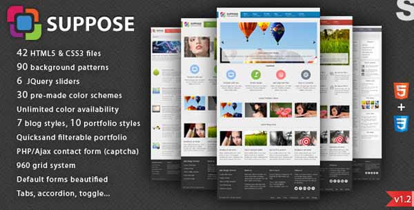 Suppose - Premium HTML5 Theme-6
