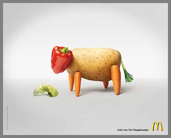 The Veggie burger – M