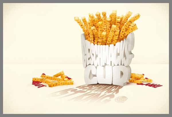 Typography Chips - BK King Mag