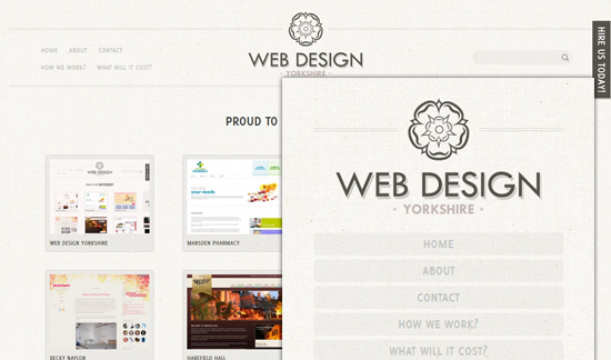 Webdesign Yorkshire