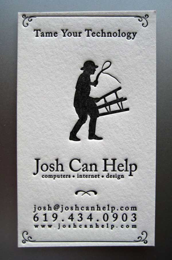 25 Creative and Funny Business Cards