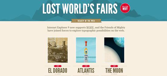 lost world fairs