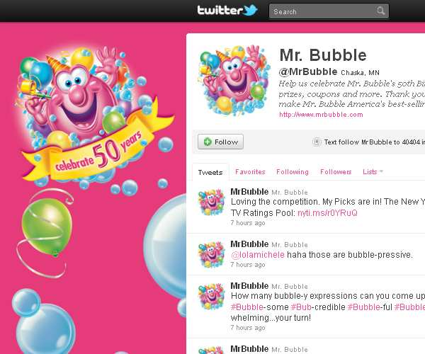 Mr Bubble