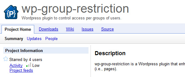 wp-group-restriction