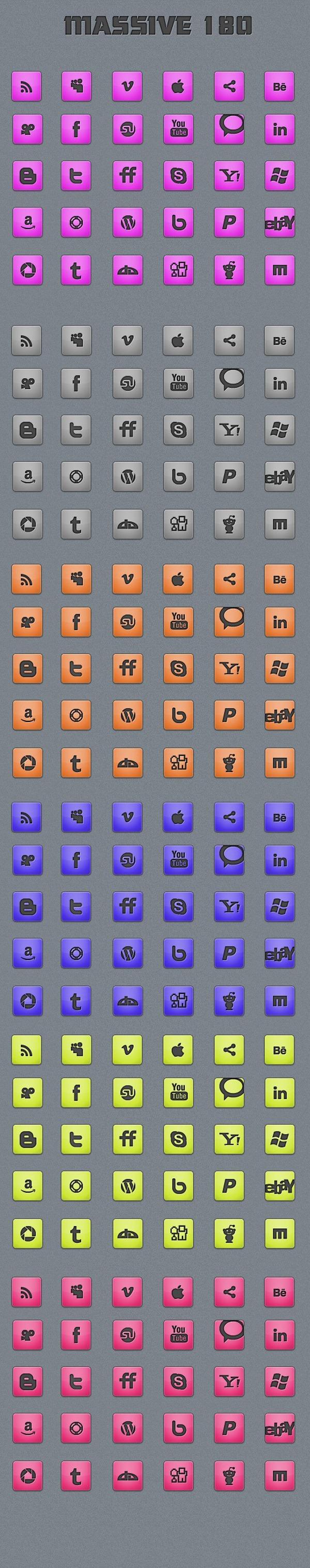 180-Massive-Minimalistic-Icon-set