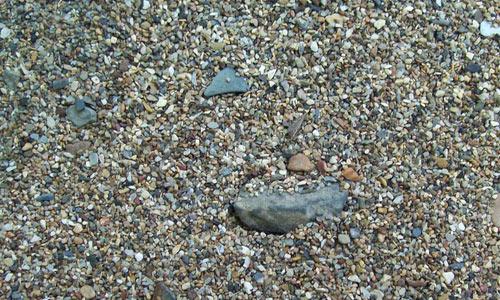 Small Gravel Texture Stock