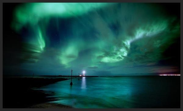 Aurora Borealis by Kiddik