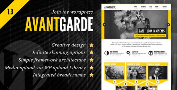 Avantgarde Creative Theme