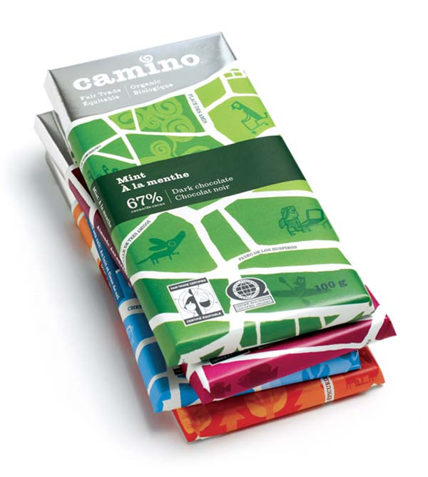 Camino Chocolate Package Design
