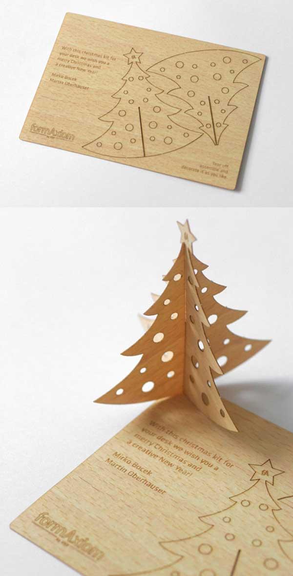 Christmas Themed Business Card
