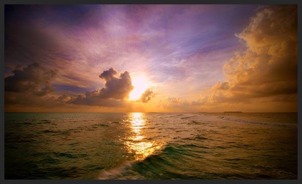 Creamy Sky by Dominic Kamp