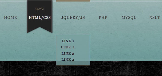 Create an Awesome Marble Style CSS3 Navigation Menu