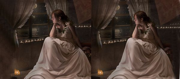 Create an Elegant Lady in a Night Scene Using Photoshop