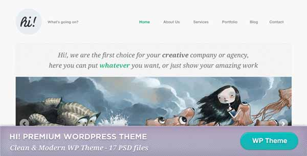 Creative Portfolio WordPress