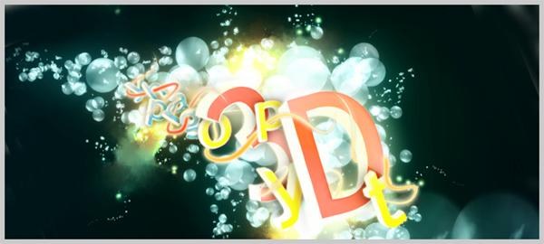 Design an Amazing Bubble text in Art