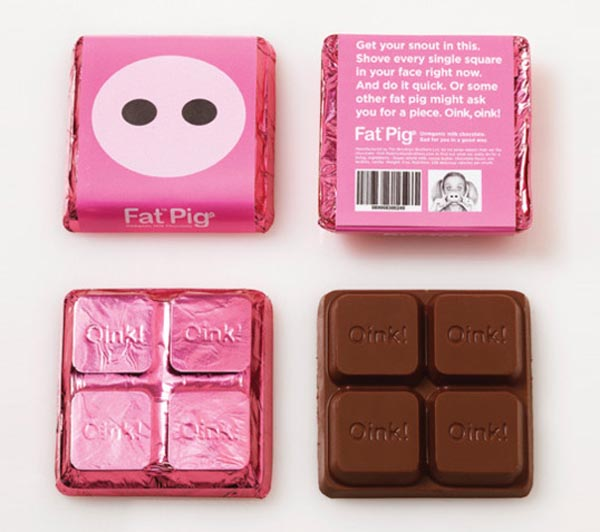 Fat Chocolate Package Design