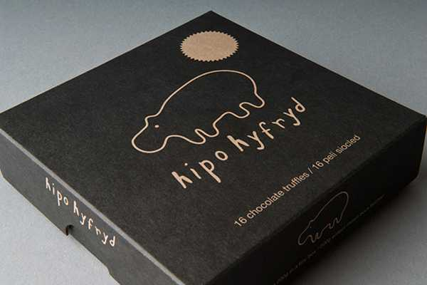 Hipo Hyfryd Chocolate Package Design