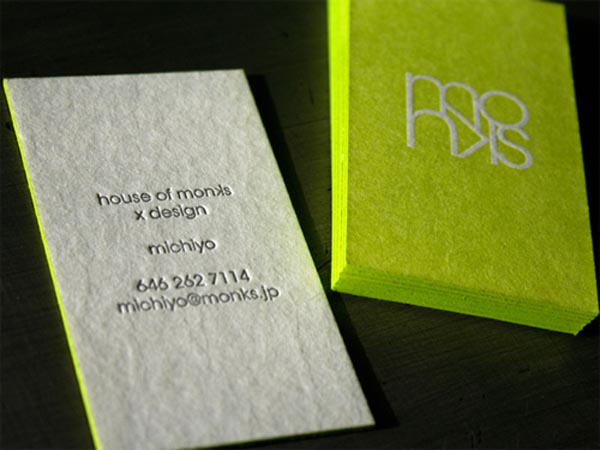 House of Monks Business Card