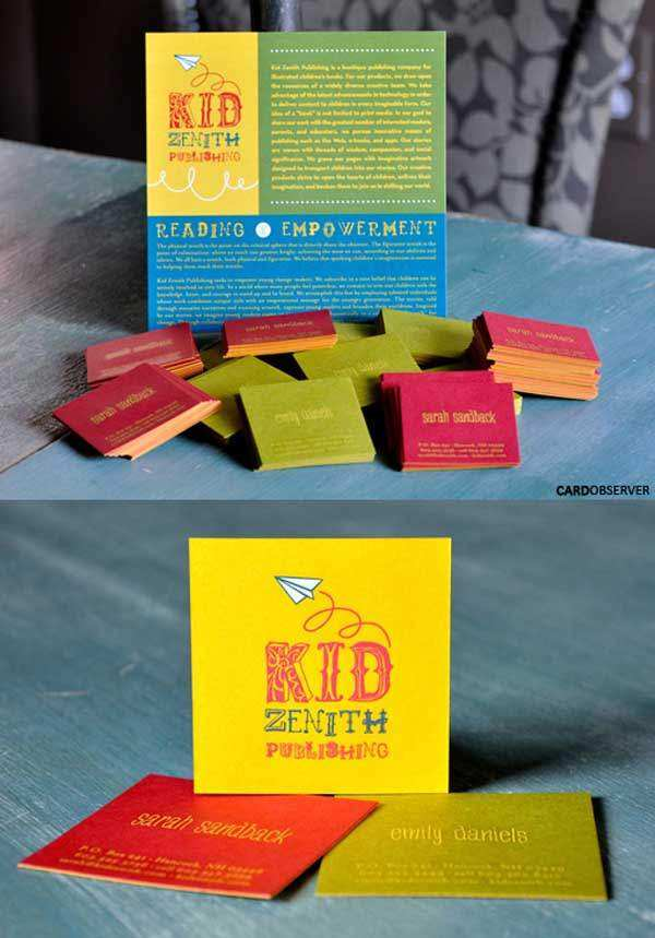 Kid Zenth Business Card