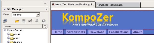 KompoZer