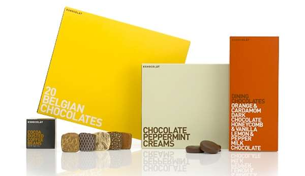 Kshocolat Chocolate Package Design