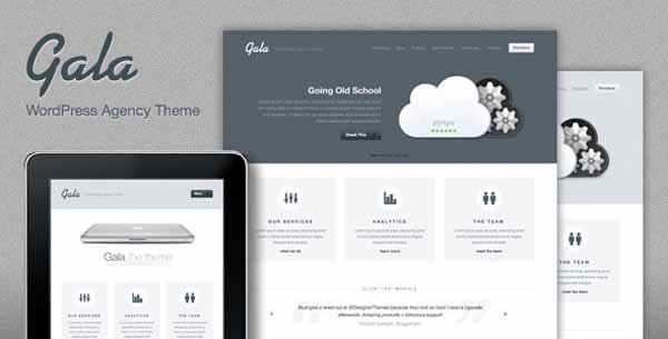Mac-inspired Agency WordPress Theme