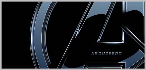 Making a Nice Avengers Logo in Photoshop