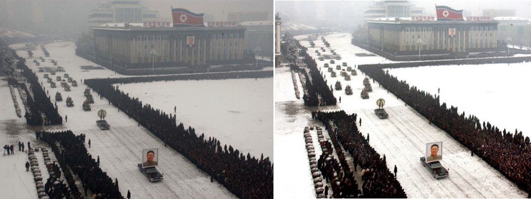 North Korea Funeral Procession
