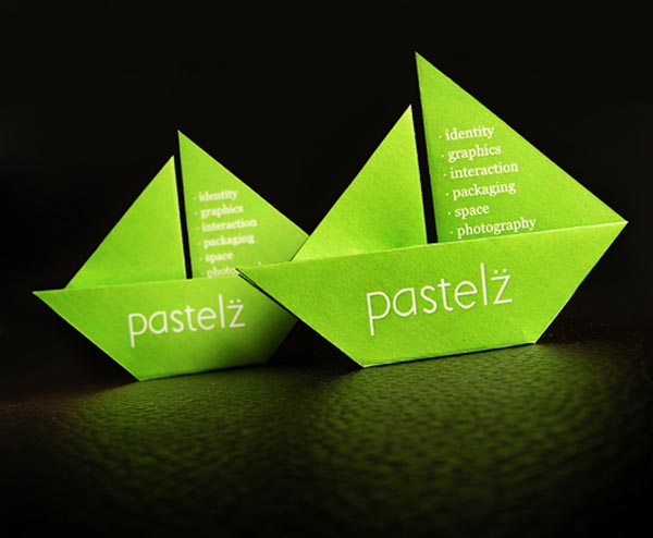 Origami Pastelz Business Card