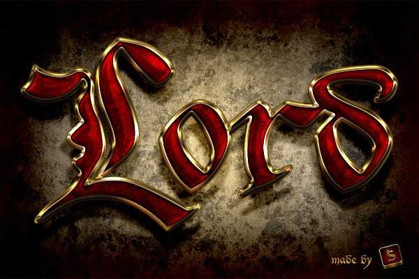 Quick Quick Tip: Create a Royal Gold Text Effect in Photoshop Using Layer Styles