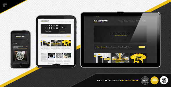 Reaction WP  Responsive Rugged