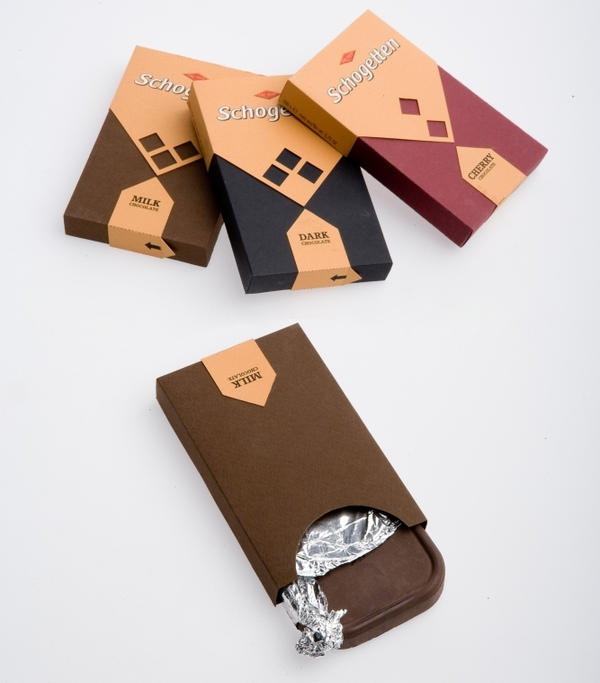 Schogetten Chocolate Packaging Design