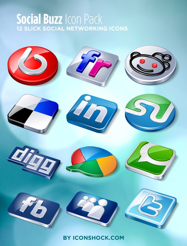 Social-Buzz-Icon-Pack
