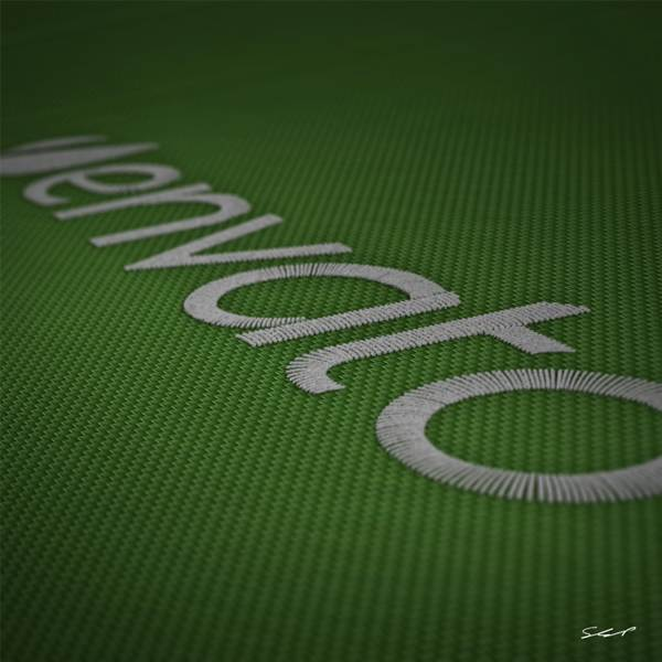 Create a Stitched Text Effect for an iPad Wallpaper