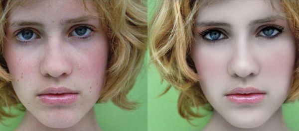 Create a Useful Make-up for a Lady in Photoshop