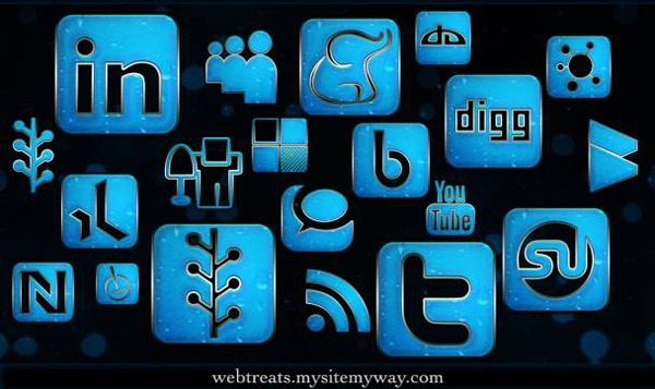 blue-chrome-rain-social-networking-icons