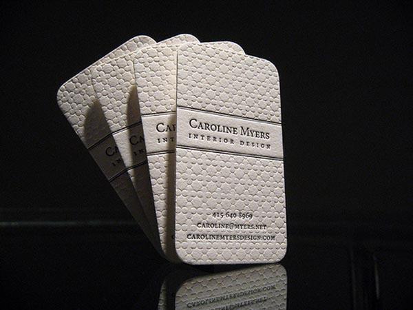 Caroline Myers Business Card