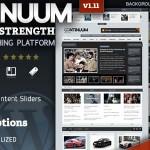 Continuum - Magazine Wordpress Theme
