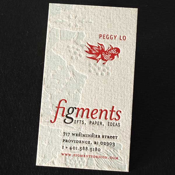 Figments Business Card by Peggy lo