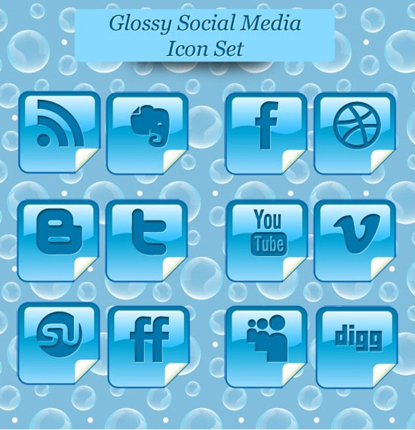glossy-social-media-icon-set