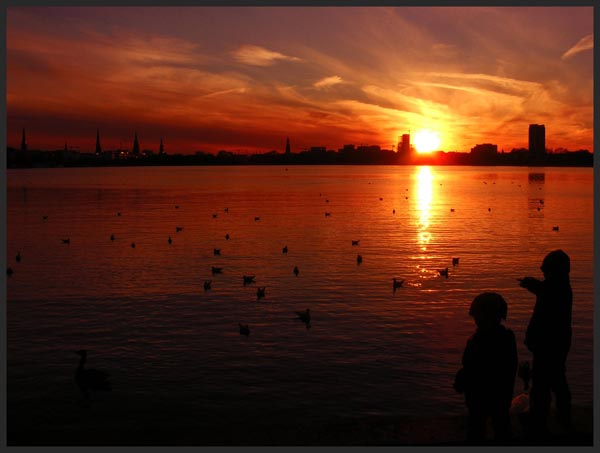 Kids love Sunset by Rock my life