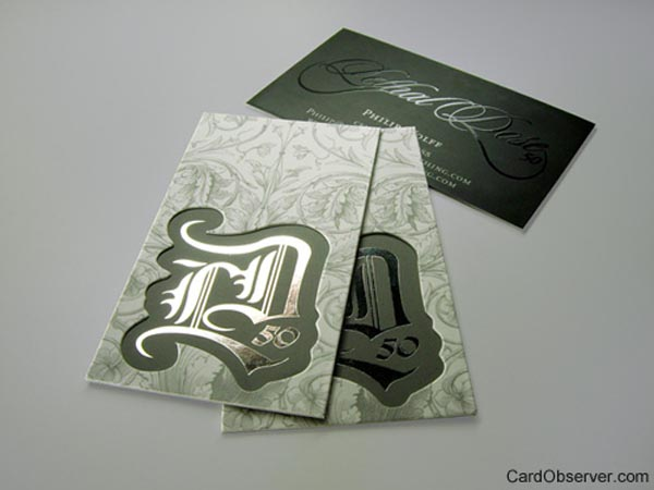 Lethal Dose Business Card by Taste of Ink Studio