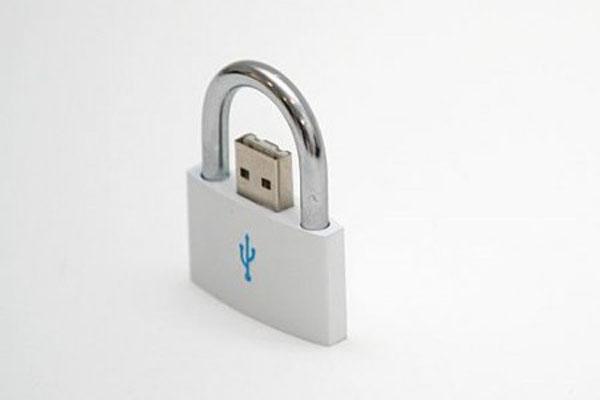 Lock USB