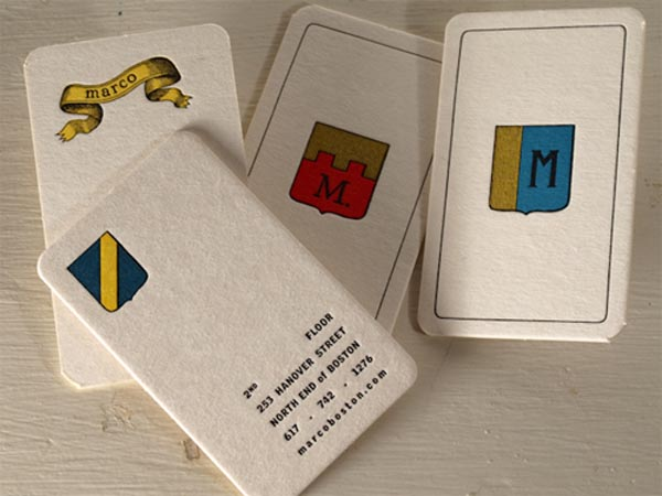 Marco Business Card by Peter king and company