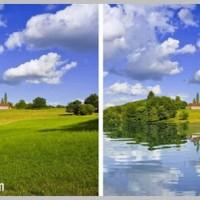 realistic lake