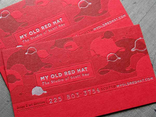 Red Hat Business Card