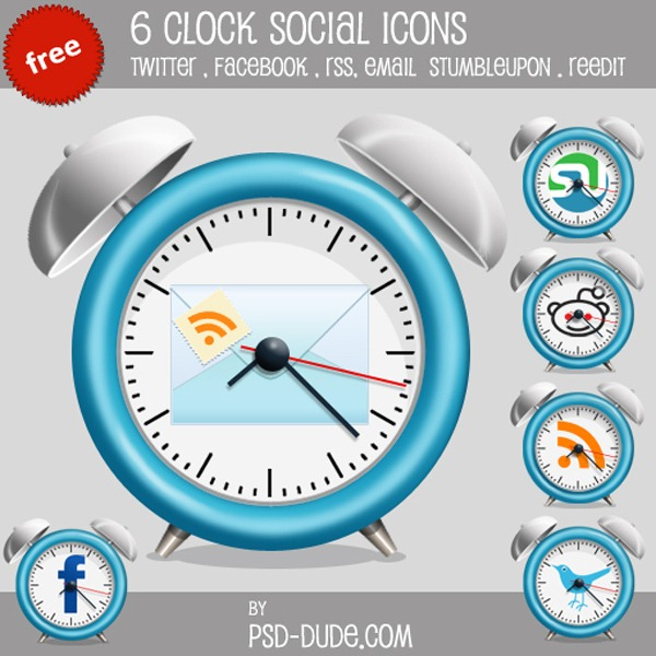 social-clock-icon-preview-image