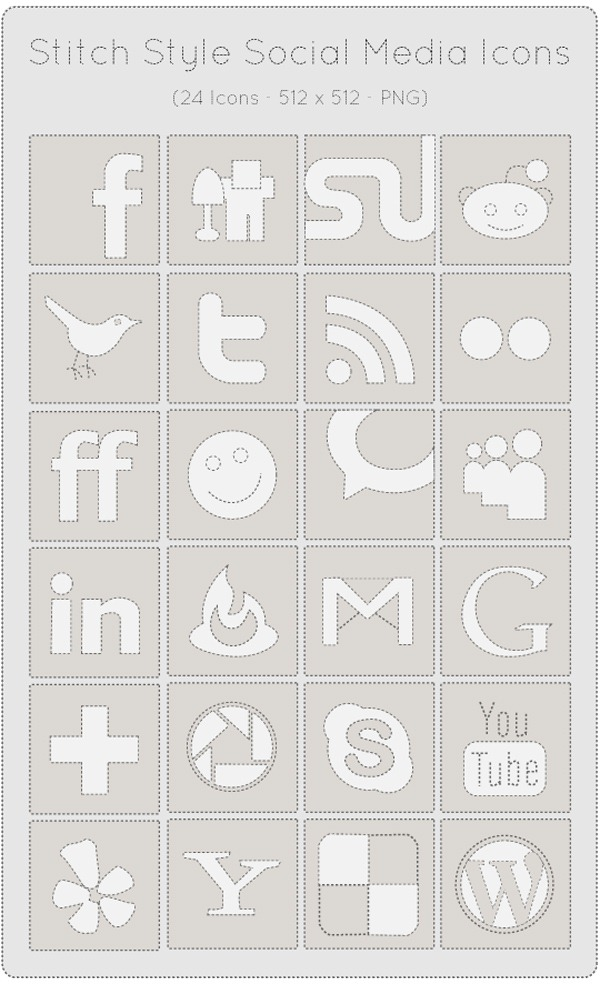 stitch-style-social-media-icons