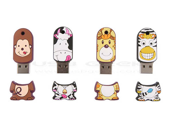 Colorful Cartoon USB