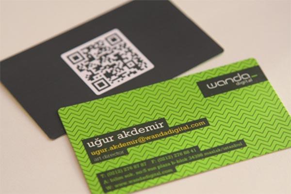 Wanda Digital Business Card